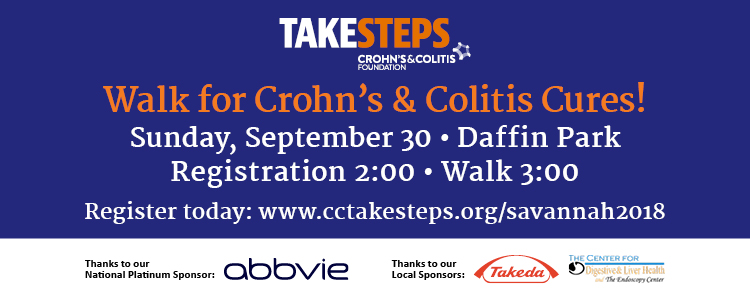 Crohn's and Colitis Foundation- Take Steps Walk 2018